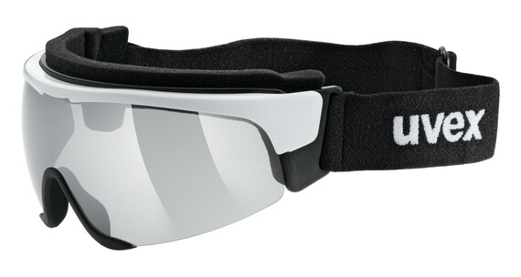 UVEX Cross Shield II Pro S white/litemirror silver